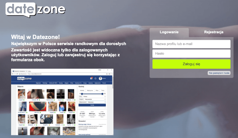 DateZone - opinie